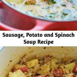 Sausage, Potato and Spinach Soup Recipe