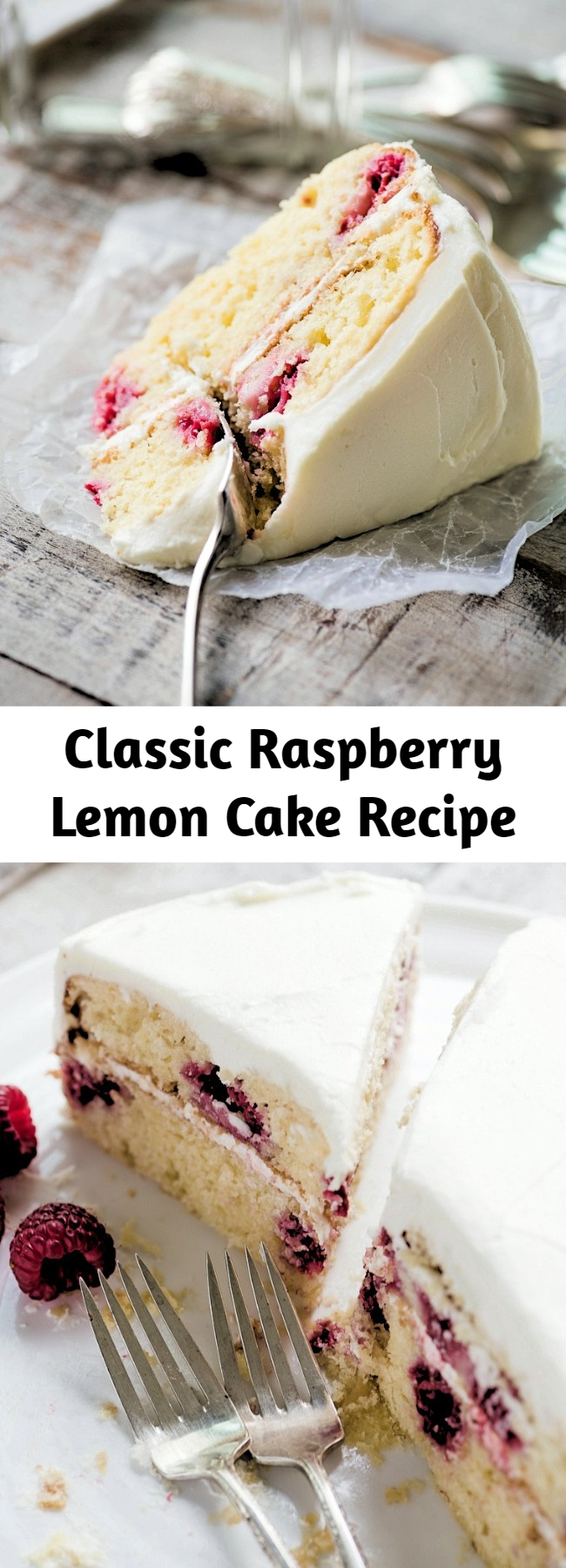 Classic Raspberry Lemon Cake Recipe