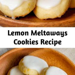 Light and buttery, these bite-sized lemon cookies are a real treat!