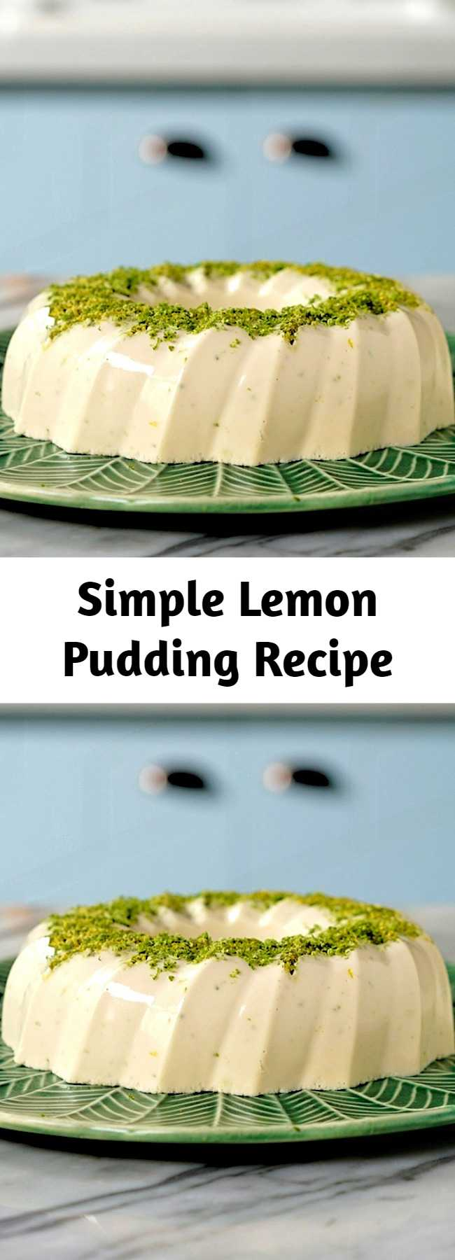 Simple Lemon Pudding Recipe
