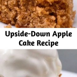 This apple cake is absolutely scrumptious! Especially with a side of vanilla ice cream.