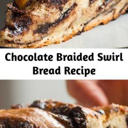 Chocolate Braided Swirl Bread Recipe (Babka)