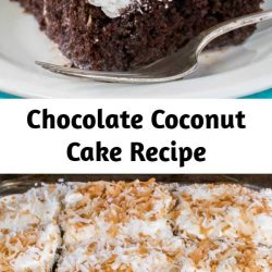 This creamy Chocolate Coconut Cake will get rave reviews from the coconut lovers in your life. Make a pan and watch it disappear!