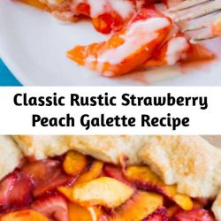 A classic rustic galette recipe using summer's finest juicy fruits.