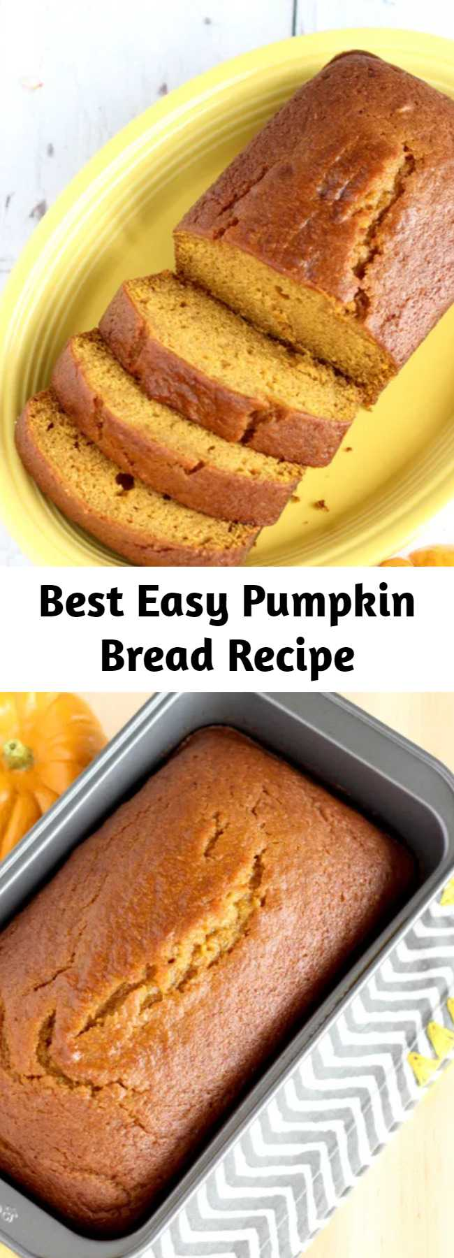 Best Easy Pumpkin Bread Recipe - Get ready for a little Pumpkin bliss with this World's Best Pumpkin Bread Recipe! Seriously… it's even better than Starbucks!  And you can keep it easy using Libby's Pumpkin from the can!  Or… get wild and crazy and make your own homemade pumpkin puree from your backyard garden pumpkins! The choice is yours!