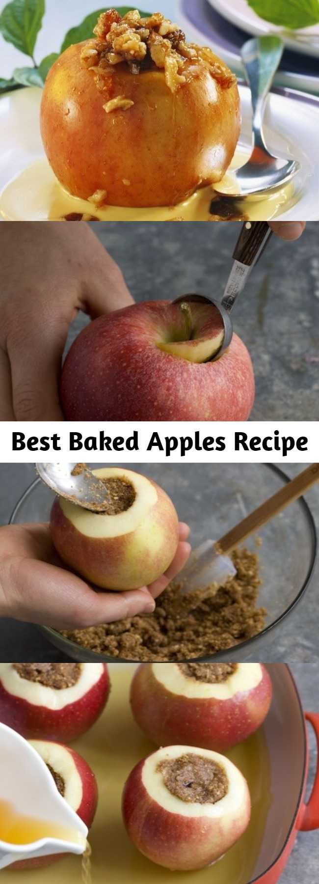 Best Baked Apples Recipe - Good warm or cold, they are a perfect make-ahead treat.