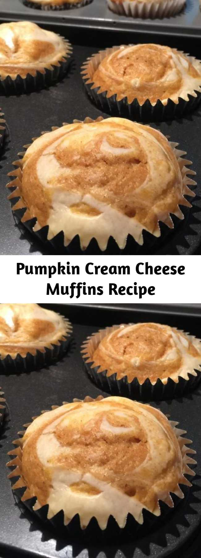 Pumpkin Cream Cheese Muffins Recipe - These muffins are the best! They are moist and very delicious. Not only taste great but looking so good as well! You'll be glad you made this recipe for pumpkin muffins with a cream cheese filling and a streusel topping. #breakfastrecipes #brunchrecipes #breakfastideas #brunchideas #muffins #muffinrecipes #baking #bakingrecipes