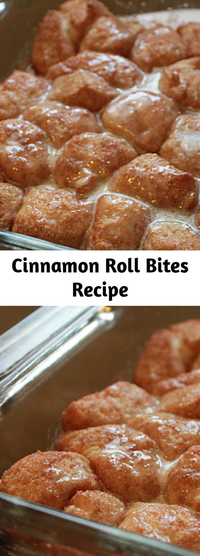 Cinnamon Roll Bites Recipe - Ooey, gooey Cinnamon Roll Bites give you all the great taste of a cinnamon roll without all the work! They take no time at all to make and will vanish quicker than a blink of an eye.