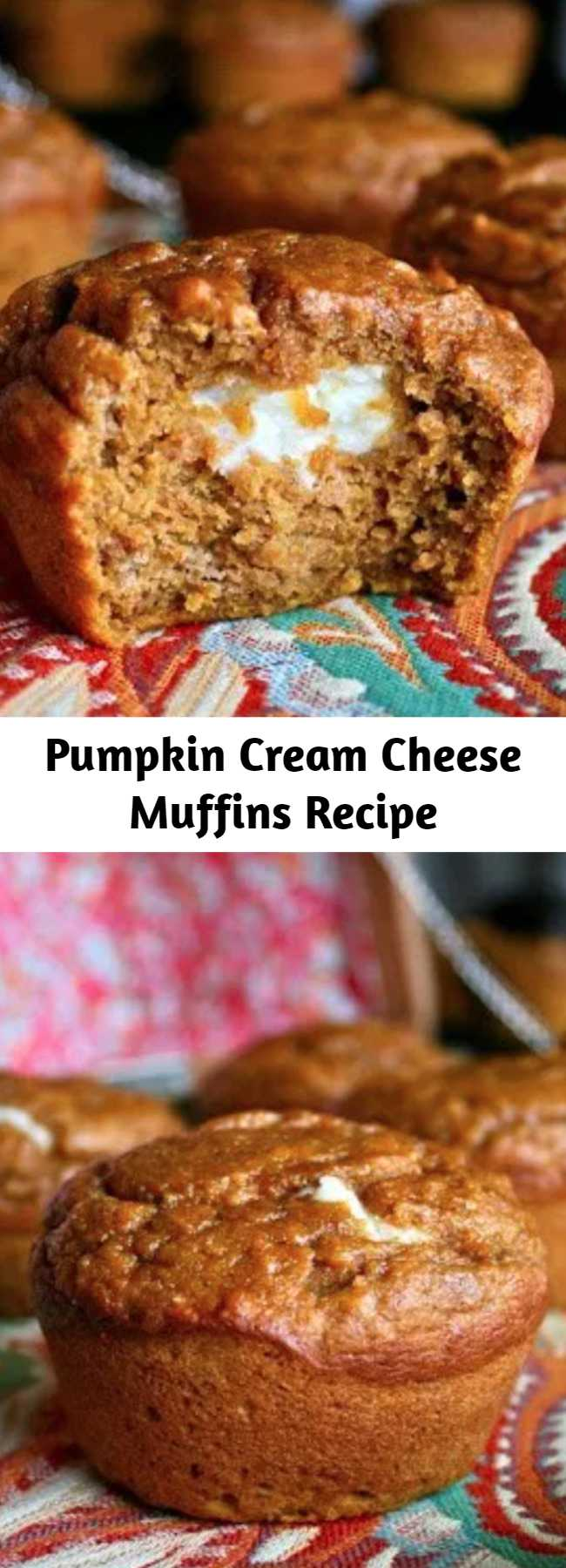 Pumpkin Cream Cheese Muffins Recipe - These Pumpkin Cream Cheese Muffins are a perfect Starbucks knock off and they are sure to satisfy all your pumpkin dreams. It's amazingly light, moist, and flavorful so I will definitely be keeping this recipe for my go to pumpkin bread/muffin. In my opinion, these are best served slightly warmed and with a cup of hot coffee, which actually sounds pretty great right now. 🙂 Enjoy!